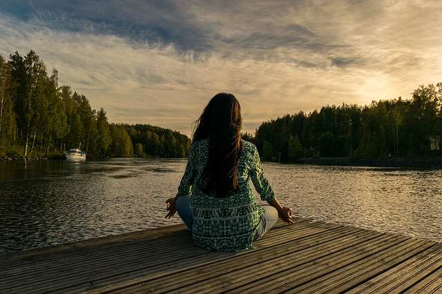 meditace na molu